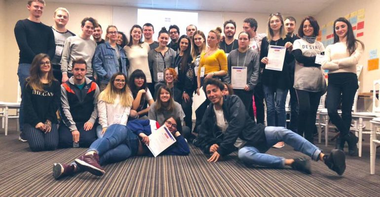 "No Hate Speech Movement Never Ends: A training course ""Virtual Action for Human Rights Education"" was held in Istanbul, Turkey on 5-11 February 2019 by Youth Work Association"