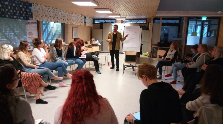 Contact Making Event in Turku, Finland